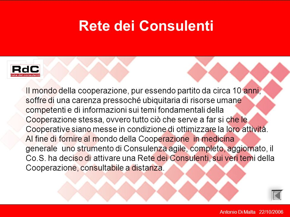 Rete dei Consulenti