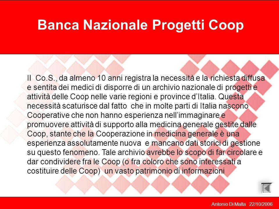 Banca Nazionale Progetti Coop