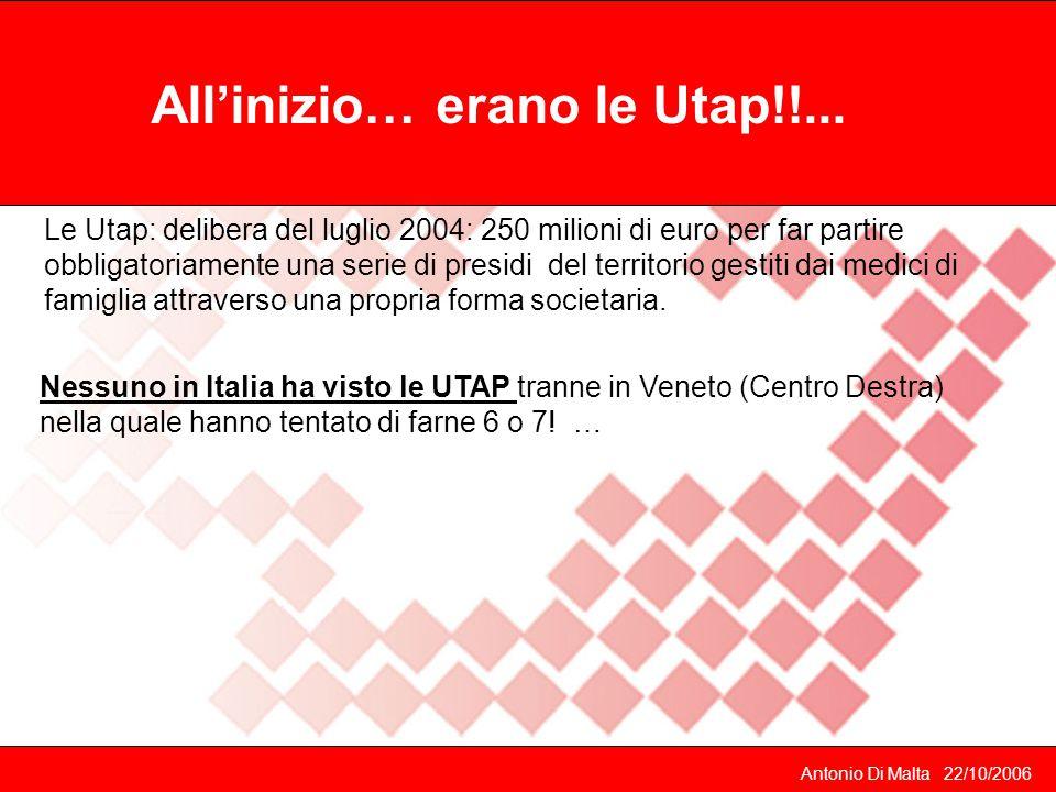 All'inizio… erano le Utap!!...