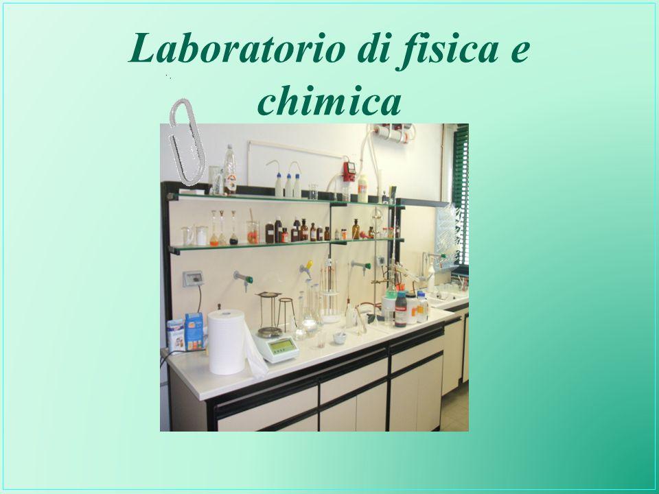Laboratorio di fisica e chimica