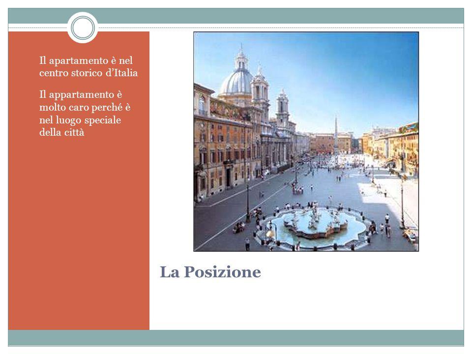 La Posizione Il apartamento è nel centro storico d'Italia