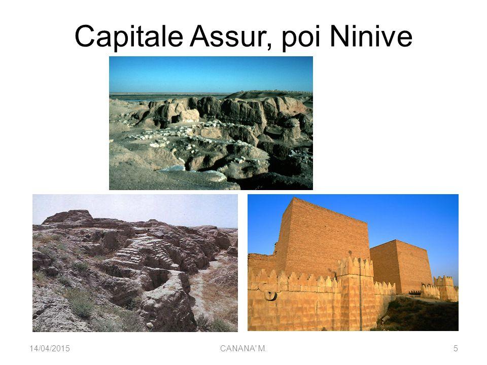Capitale Assur, poi Ninive