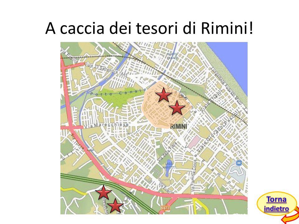 A caccia dei tesori di Rimini!