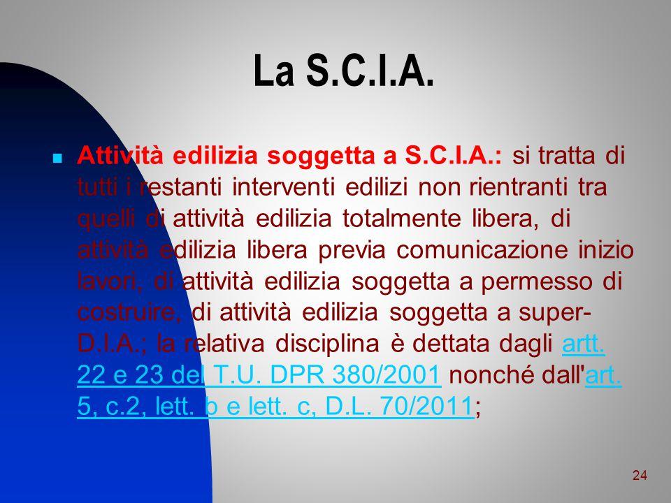 La S.C.I.A.