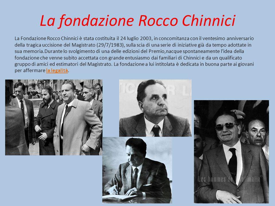 La fondazione Rocco Chinnici
