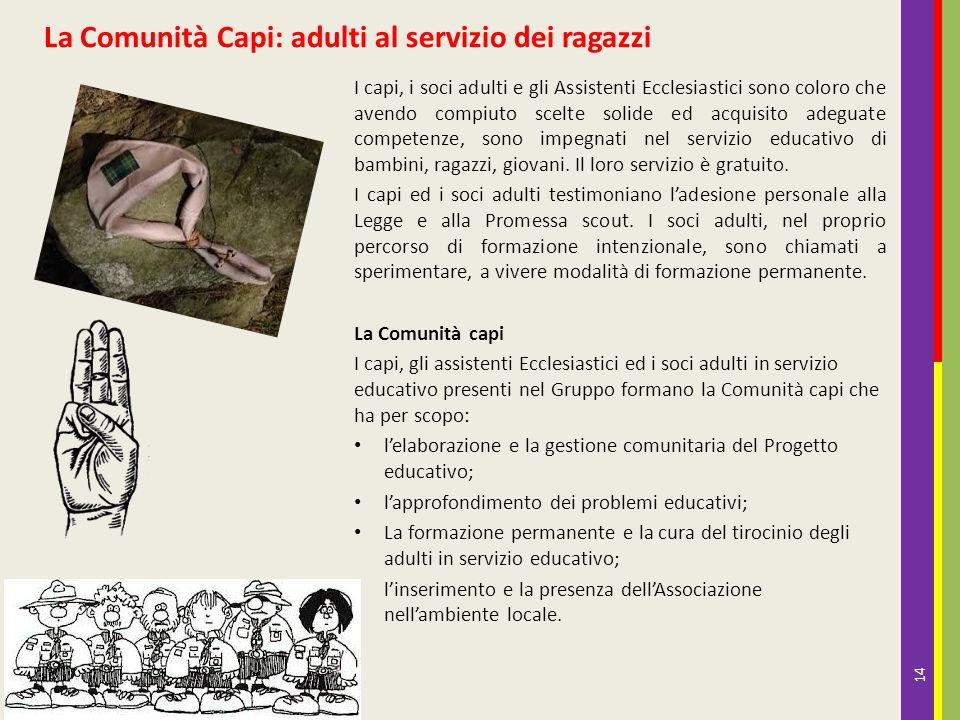 La Comunità Capi: adulti al servizio dei ragazzi