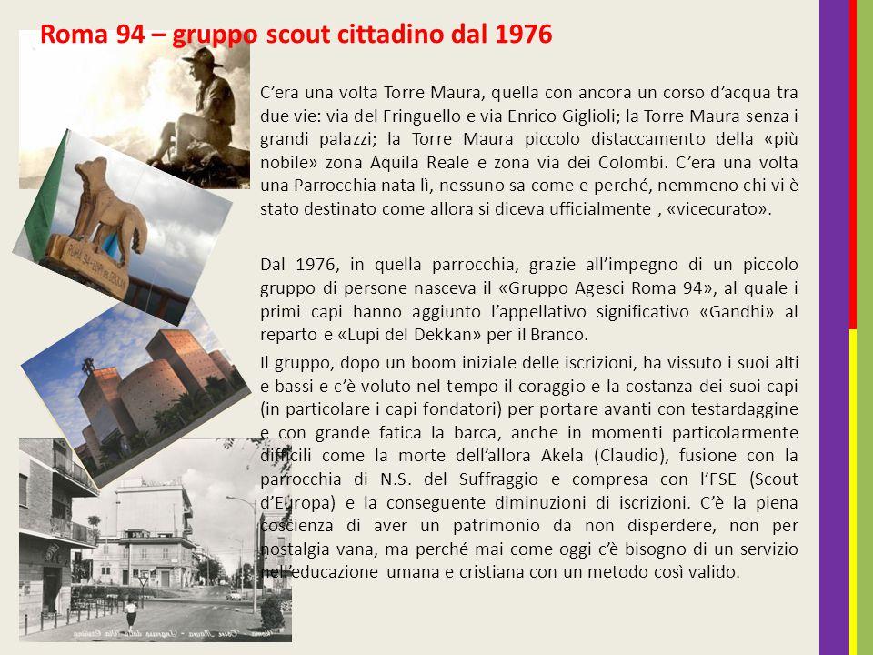 Roma 94 – gruppo scout cittadino dal 1976