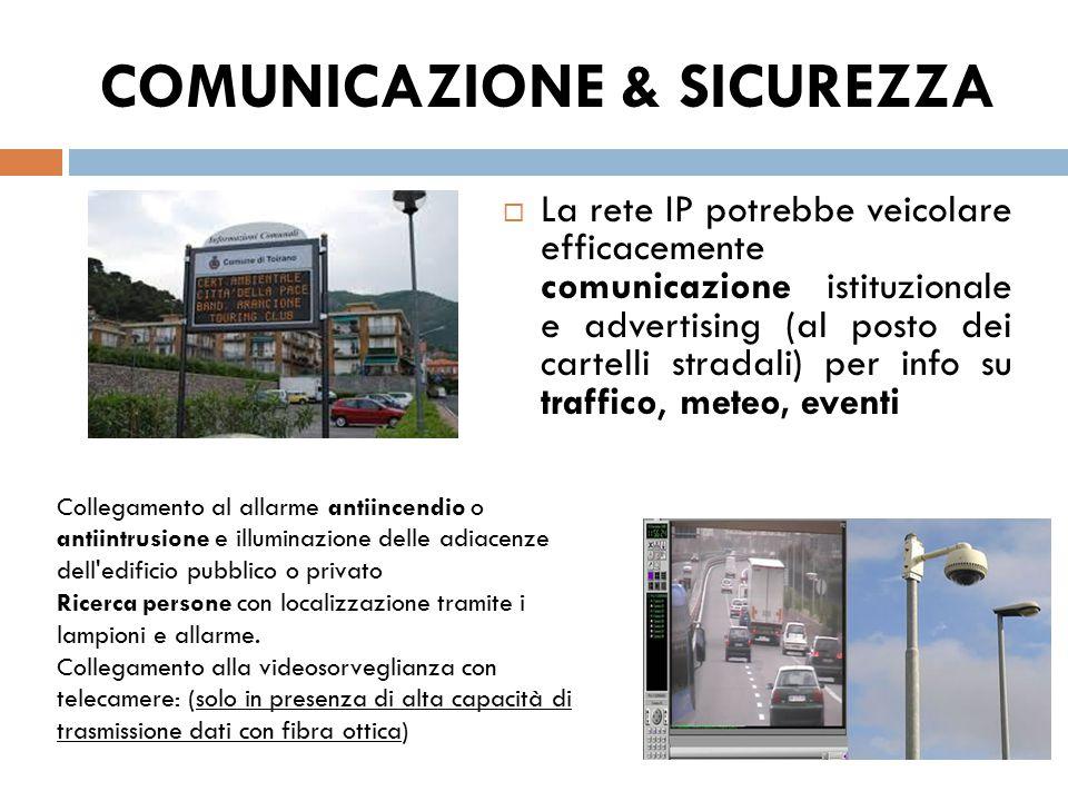 COMUNICAZIONE & SICUREZZA