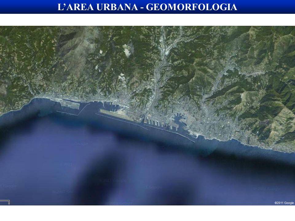 L'AREA URBANA - GEOMORFOLOGIA