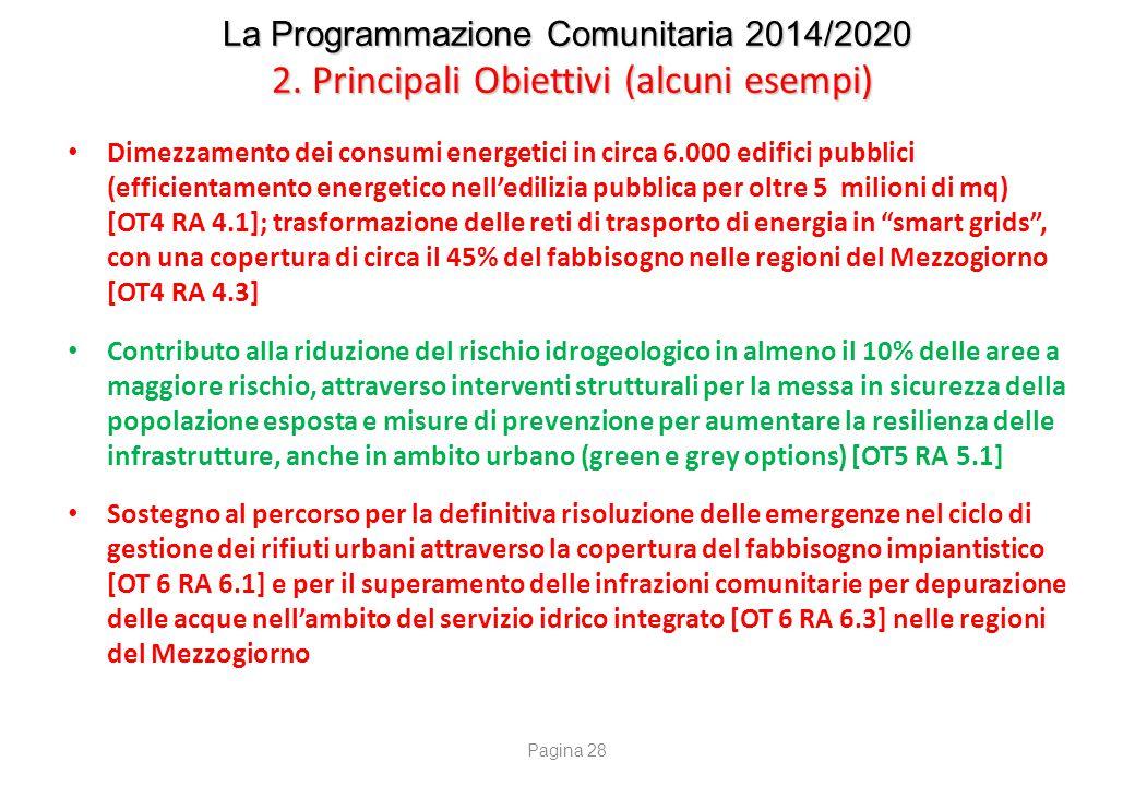 La Programmazione Comunitaria 2014/2020 3