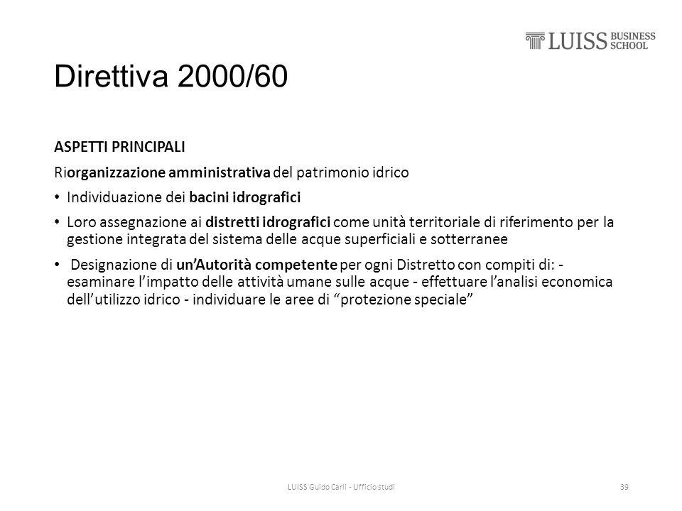 LUISS Guido Carli - Ufficio studi