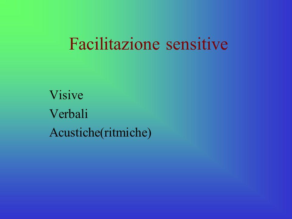 Facilitazione sensitive