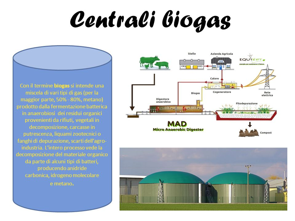 Centrali biogas
