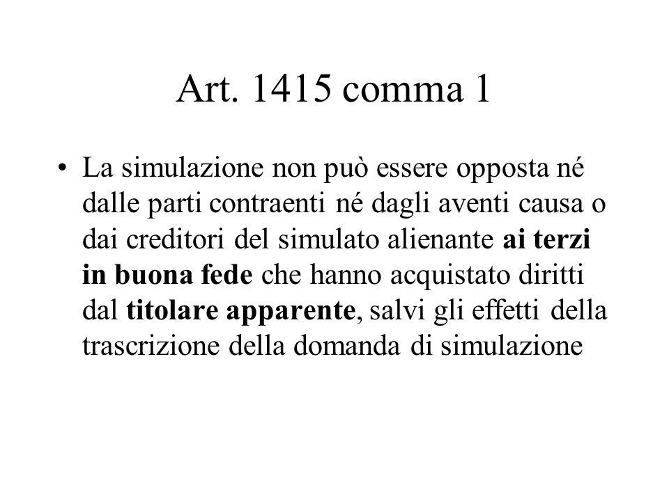 Art. 1415 comma 1