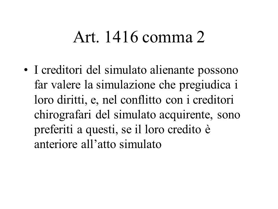 Art. 1416 comma 2