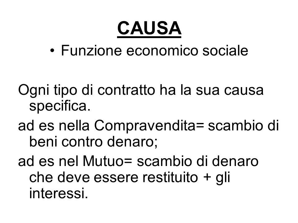 Funzione economico sociale