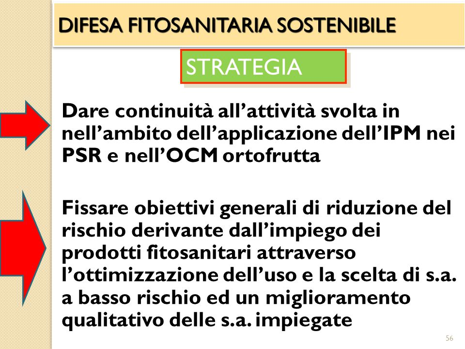 STRATEGIA DIFESA FITOSANITARIA SOSTENIBILE