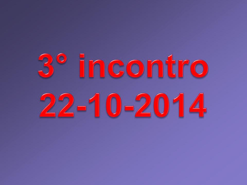 3° incontro 22-10-2014