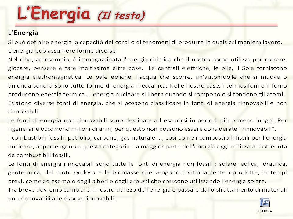L'Energia (Il testo)