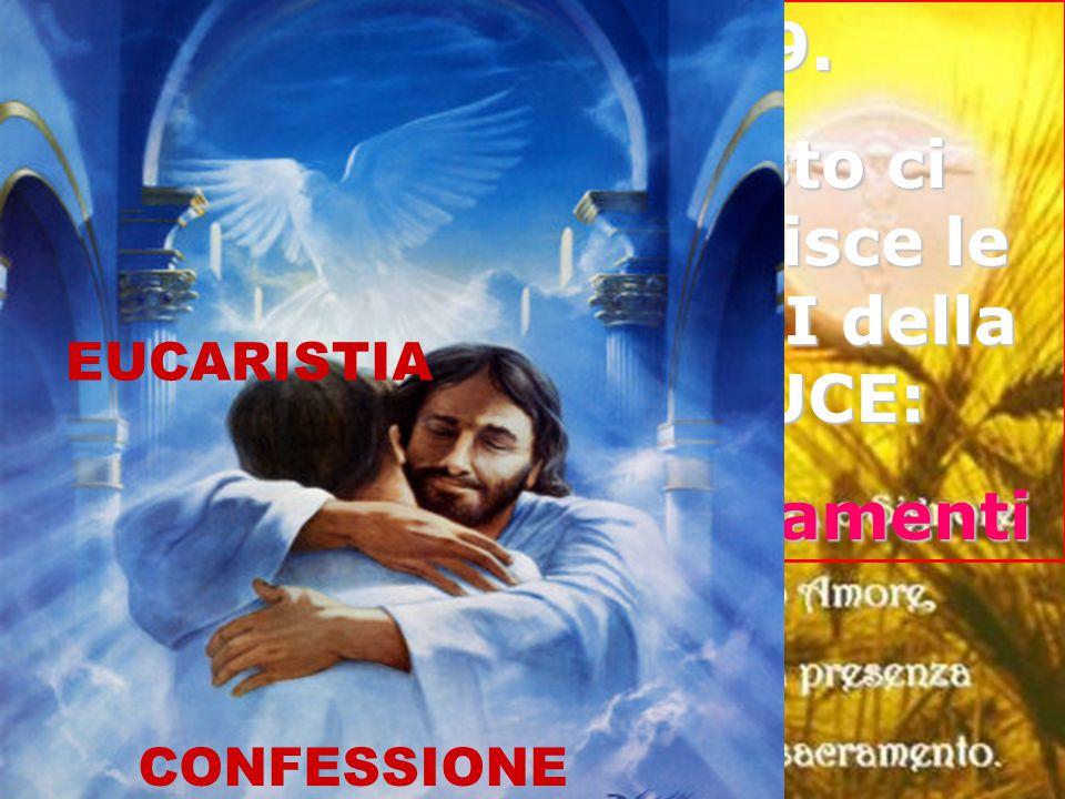 Cristo ci fornisce le ARMI della LUCE: