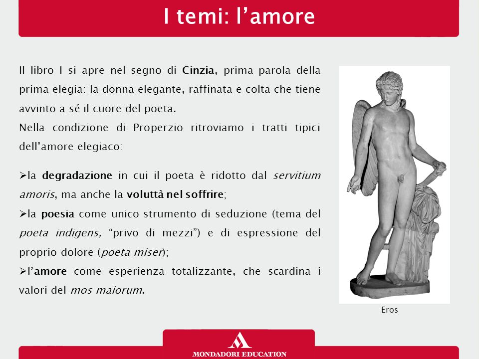 I temi: l'amore 13/01/13.