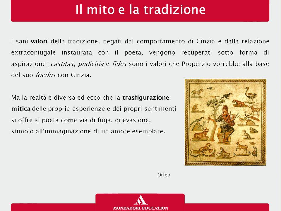Il mito e la tradizione 13/01/13.