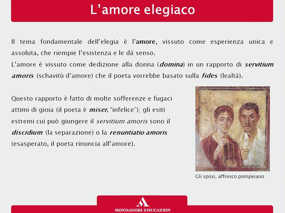L'amore elegiaco 13/01/13.