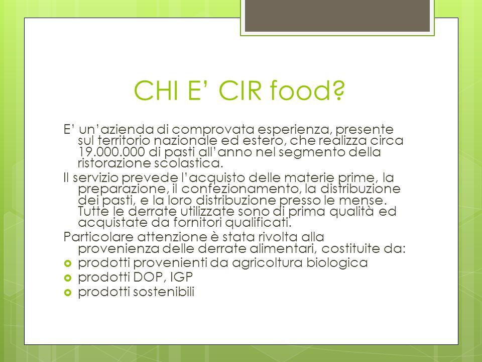 CHI E' CIR food