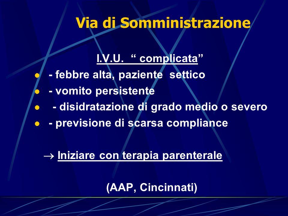 Infezioni vie Urinarie Diagnosi di IVU