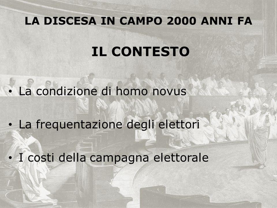 LA DISCESA IN CAMPO 2000 ANNI FA