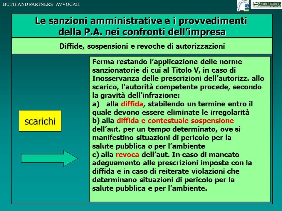 Le sanzioni amministrative e i provvedimenti