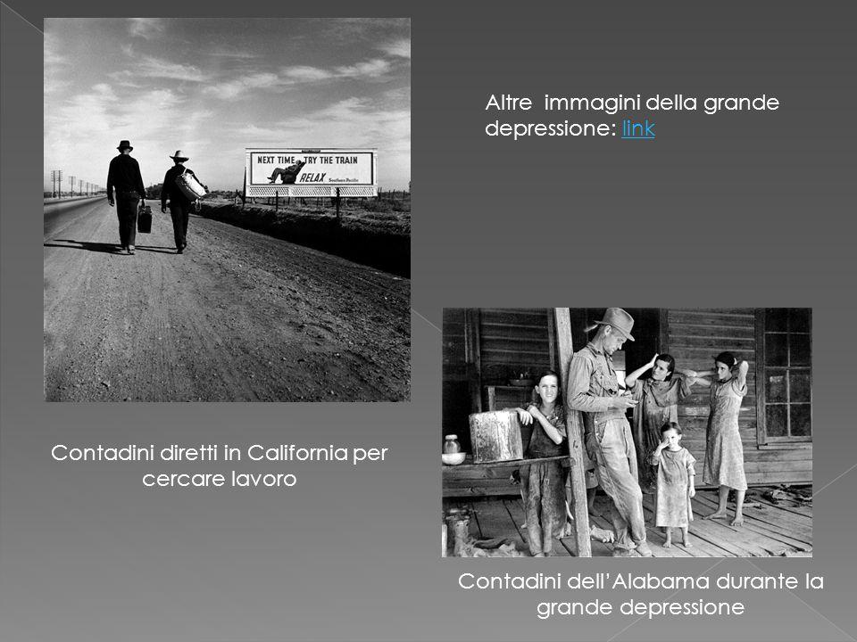 Altre immagini della grande depressione: link