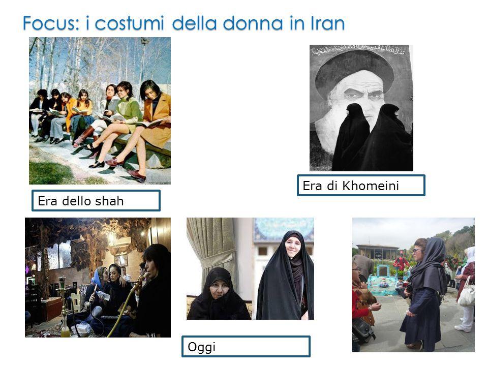 Focus: i costumi della donna in Iran