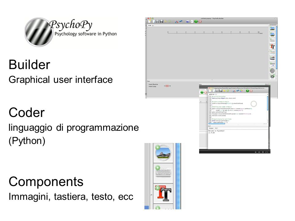 Builder Coder Components Graphical user interface