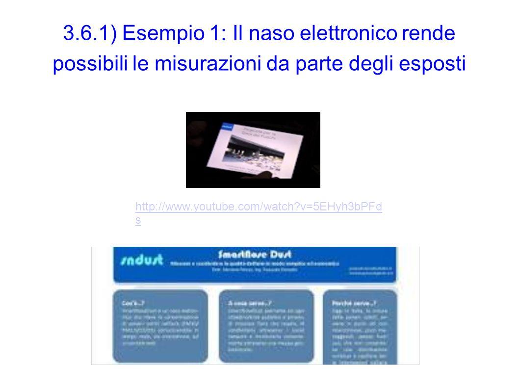 3.6.1) Esempio 1: Il naso elettronico rende possibili le misurazioni da parte degli esposti