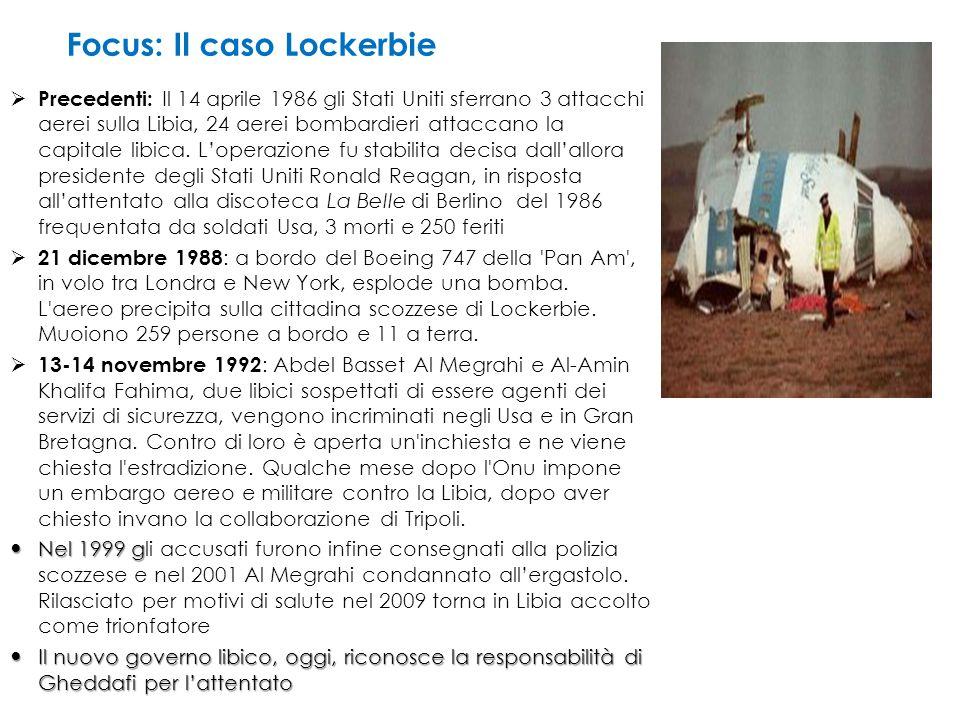 Focus: Il caso Lockerbie