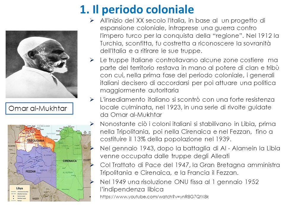 1. Il periodo coloniale Omar al-Mukhtar
