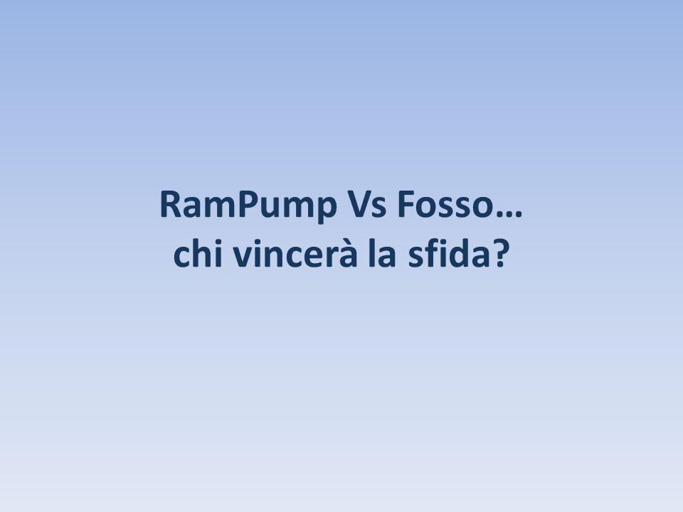 RamPump Vs Fosso… chi vincerà la sfida