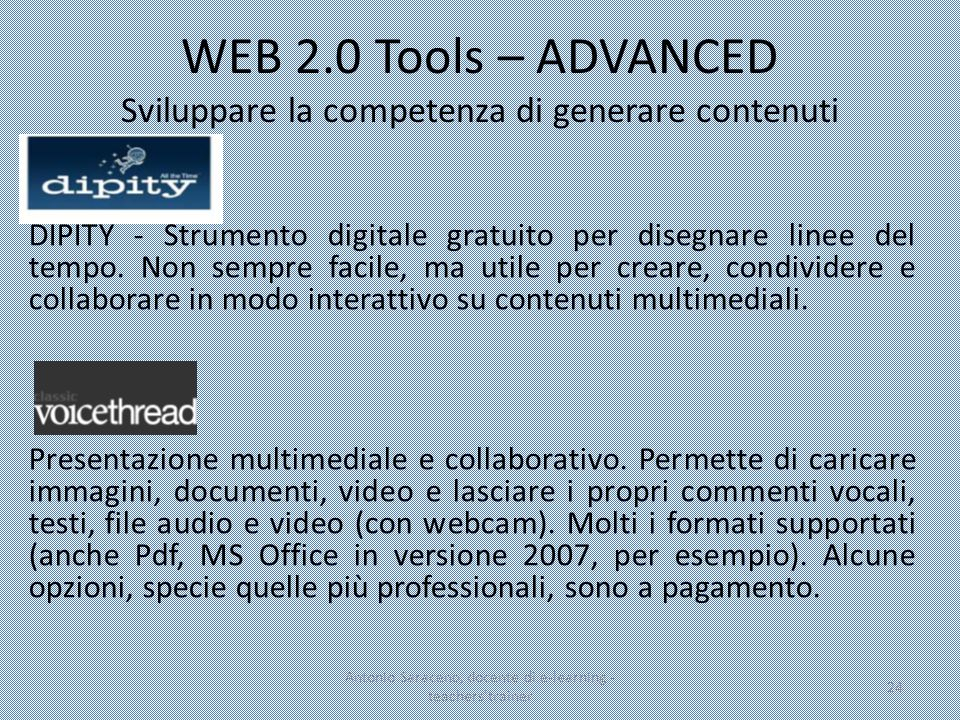 Antonio Saraceno, docente di e-learning - teachers trainer