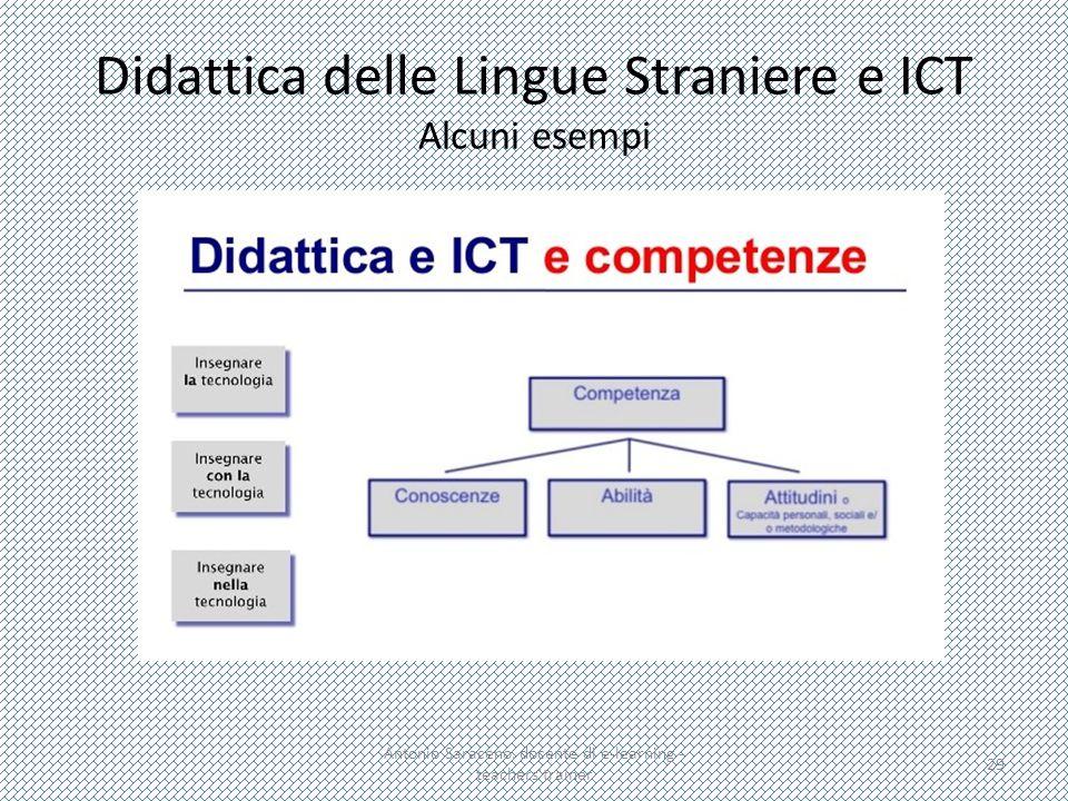 Didattica delle Lingue Straniere e ICT Alcuni esempi