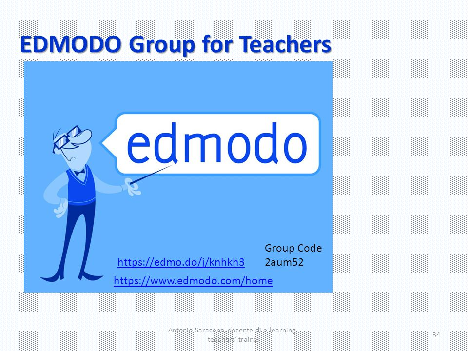 EDMODO Group for Teachers