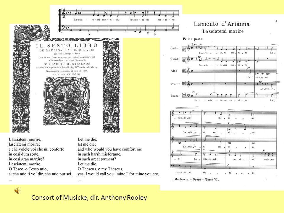 Consort of Musicke, dir. Anthony Rooley