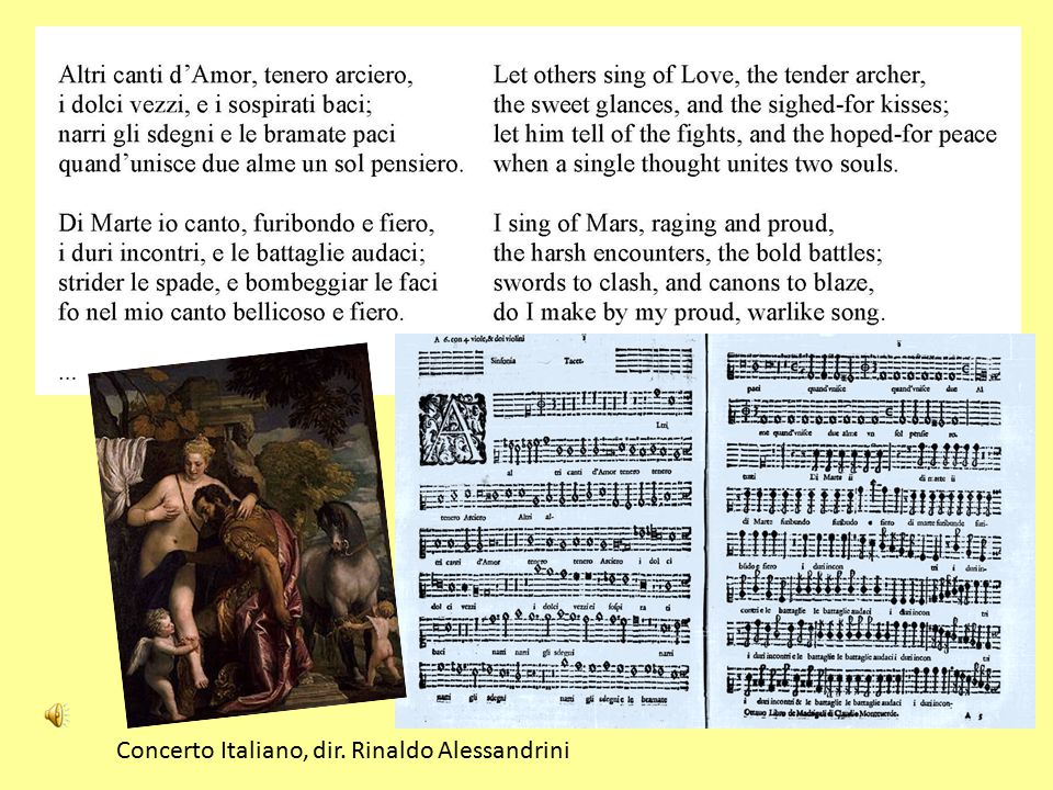 Concerto Italiano, dir. Rinaldo Alessandrini