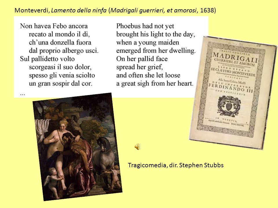 Monteverdi, Lamento della ninfa (Madrigali guerrieri, et amorosi, 1638)