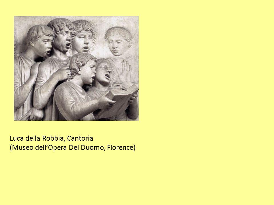 Luca della Robbia, Cantoria
