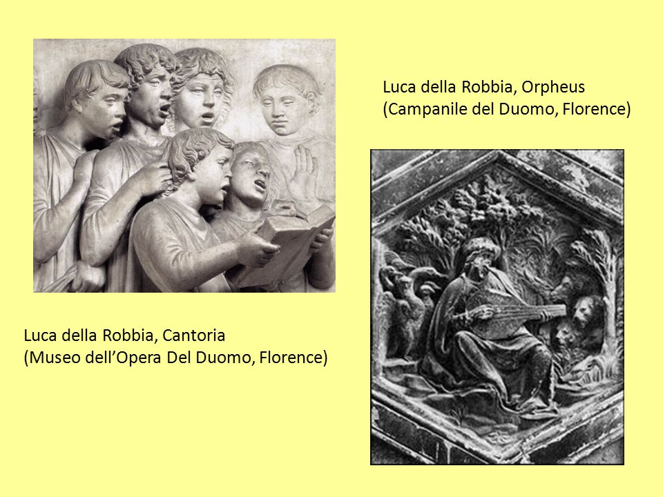 Luca della Robbia, Orpheus