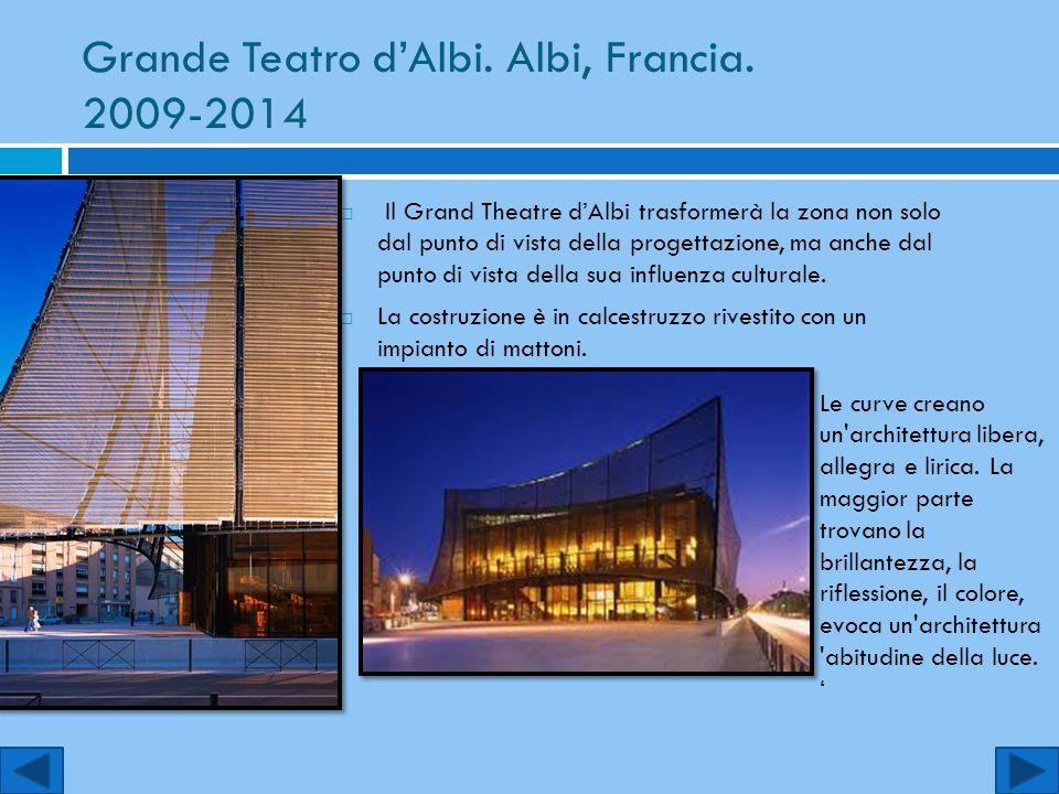 Grande Teatro d'Albi. Albi, Francia. 2009-2014