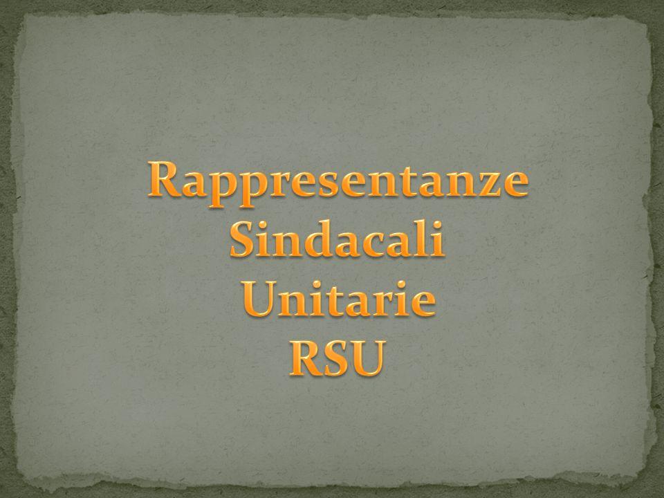 Rappresentanze Sindacali