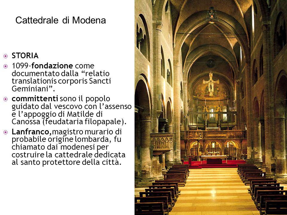 Cattedrale di Modena STORIA