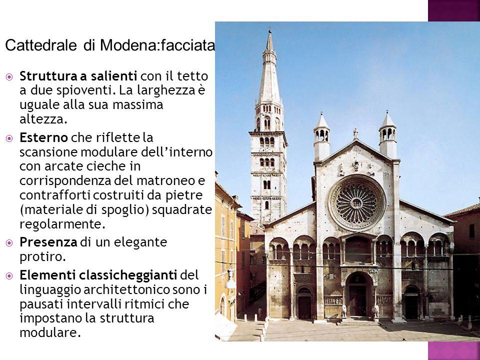 Cattedrale di Modena:facciata